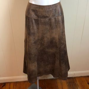Christopher & Banks Skirts - 3/$27 Christopher & Banks Faux Suede A Line Skirt